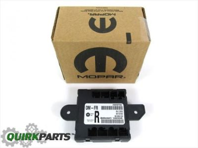 Purchase DODGE JOURNEY RAM 300 GRAND CHEROKEE FRONT RIGHT SIDE DOOR MODULE OEM NEW MOPAR motorcycle in Braintree, Massachusetts, United States, for US $58.79