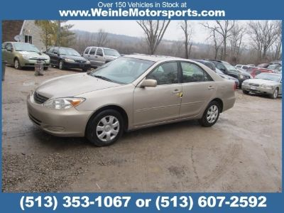 2003 TOYOTA Camry XE