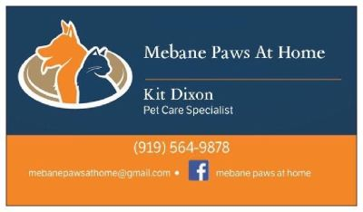 Mebane Paws At Home