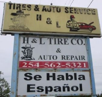 H & L TIRE CO. ABSOLUTE BANKRUPTCY REAL ESTATE AUCTION