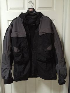 XL First Gear KILIMANJARO Riding jacket w/armor
