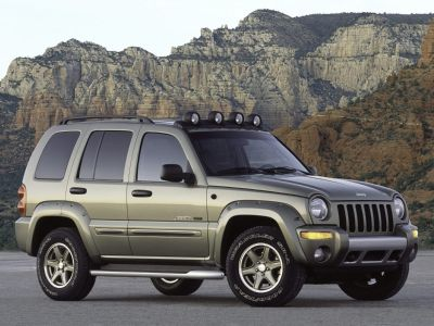 2003 Jeep Liberty Limited (Red)
