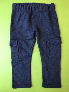 Cotton Cargo pants, blue
