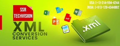 XML Conversion Services and Company | SSR TECHVISION