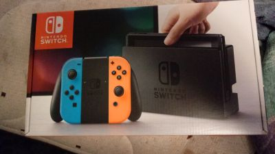 Nintendo switch brand new in box