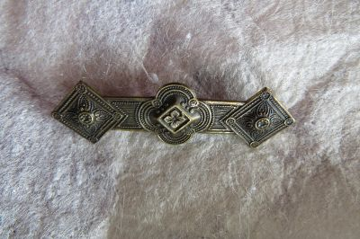 Vintage clothing pin for women
