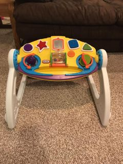 Little Tikes sit and play toy that grows with baby