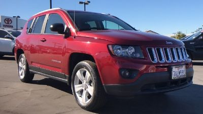 2016 Jeep Compass Sport (Deep Cherry Red Crystal Pearlcoat)