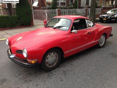 1974 VW Karmann Ghia - Red - East Cost