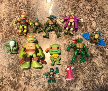 Ninja Turtles 11 Action Figures
