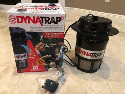DynaTrap insect trap like new