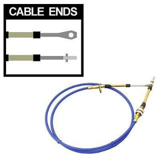 Buy B&M 80740 Shifter Cable 6 ft. Length Eyelet/Threaded Ends Blue Each motorcycle in Tallmadge, Ohio, US, for US $39.92