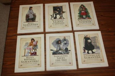 American Girl Doll Samantha Collectors books 1st Editions