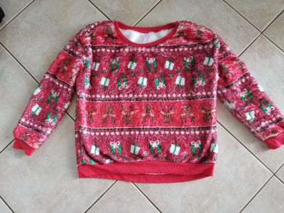 Ultra-Soft Christmas Shirt/Pajama Top. Either One. Size XL.