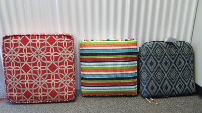 Clearance!! New Individual Outdoor Seat Cushions