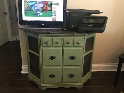 Buffet/sidetable with distressed top