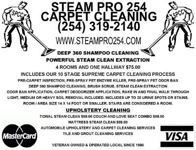 Carpet Cleaning in Killeen Tx
