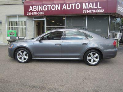 2013 Volkswagen Passat SE PZEV (Platinum Grey Metallic)