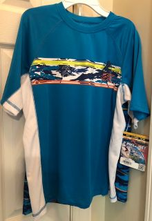 NWT Swimshirt and Trunks 18/20 XL