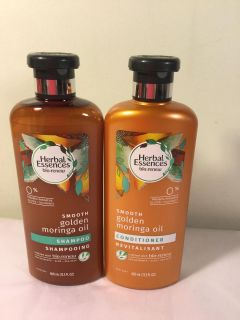 Herbal essence bio renew smooth mornings oil shampoo and conditioner set