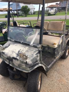 Old Golf Cart