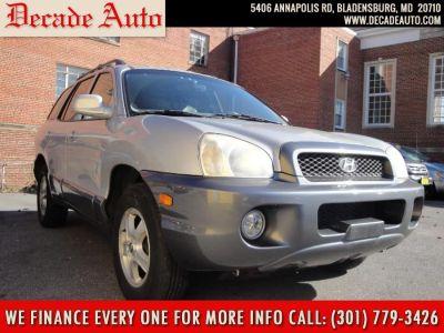 2004 Hyundai Santa Fe GLS (Silver)