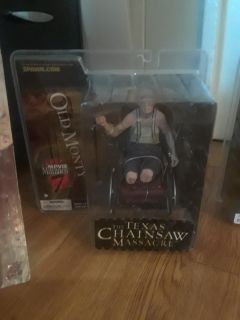 Wow Movie Maniacs Texas Chainsaw Massacre Collector toys only $75 a piece Never opened.