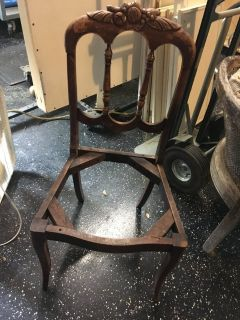 Antique project chair