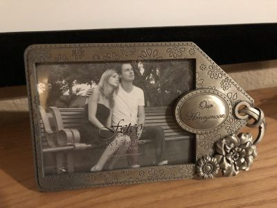 Brand New Our Engagement Picture Frame. Great For The Bride To Be-Wedding