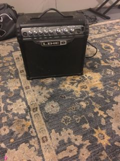 Line 6 Spider Amp w built in effect channels