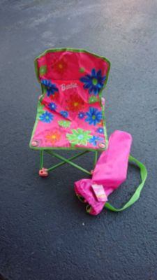 Barbie camping chair