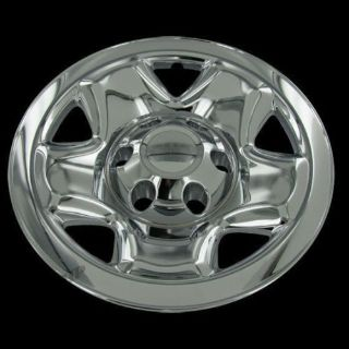 "Sell For 2005-15 Toyota Tacoma 4 16"" Chrome Wheel Skin Hubcaps Covers motorcycle in Mundelein, Illinois, United States"