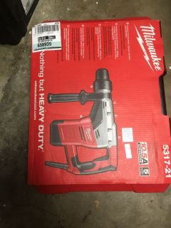 Milwaukee 10.5 Amp Corded 1-9/16 in. Spline Rotary Hammer