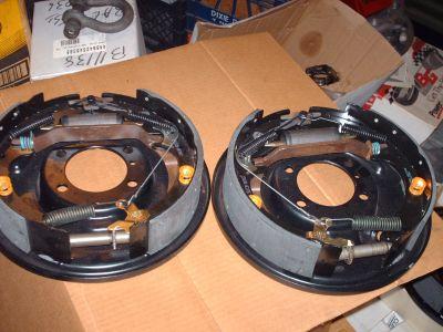 "strange 11"" rear brake complete kit"