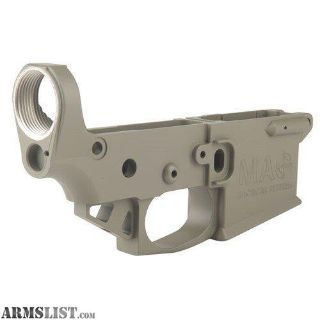 For Sale: (MAG TACTICAL) STRIPPED AR-15 LOWER RECEIVER