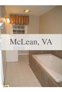 House for rent in McLean.