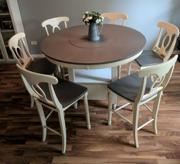 7 piece kitchen table set!
