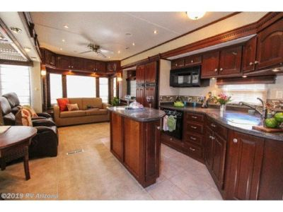 """2007 Carriage Fifth Wheel Trailer 37'8"""" 4 Slides - Top of the line!"""