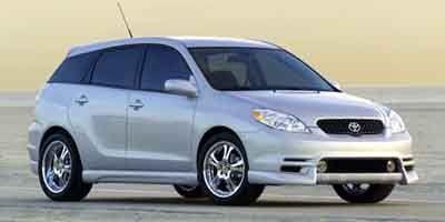 2003 Toyota Matrix Base (Not Given)