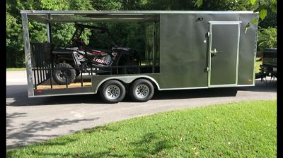 2018 Freedom 22ft Hybrid Trailer