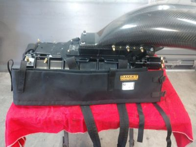 1471 Billet Hammer Super Charger w/ JBR Carbon Fiber Hat and