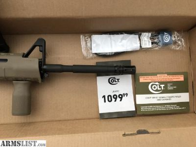 For Trade: Colt LE6920 AR15 Package Unfired