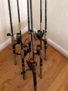 Light Spinning Rods and Reels - Maryland