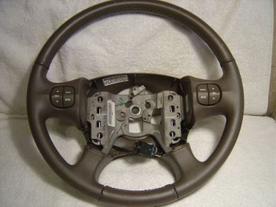 Sell BUICK LEATHER WRAPPED STEERING WHEEL, OEM, EXCELLENT CONDITION. 10341359 motorcycle in West Bloomfield, Michigan, United States