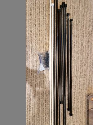 10 pc of curtain rod from Ikea