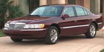 2001 Lincoln Continental Base (Maroon)