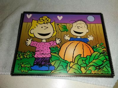 Charlie Brown lite bright stencils from the 70's
