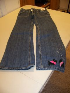 Girls Size 9 Jeans with Scotties on pant leg from Gymboree