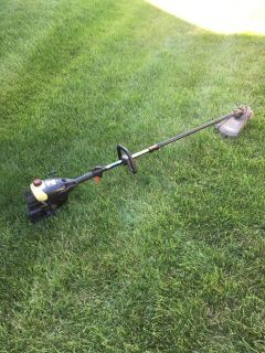 Craftsman straight shaft weed eater starts and runs need little work