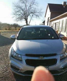 Chevy Cruze Turbo with all the extras. 539 miles